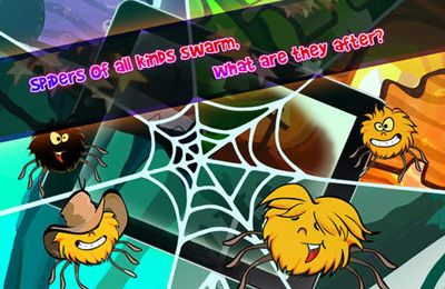 Screenshots of the Spiders X game for iPhone, iPad or iPod.