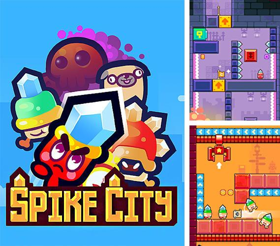 In addition to the game Mushroom War for iPhone, iPad or iPod, you can also download Spike City for free.