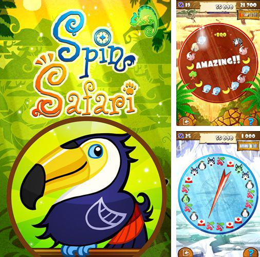 In addition to the game Drunken Santa Klaus for iPhone, iPad or iPod, you can also download Spin safari for free.