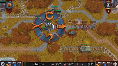 Screenshots vom Spiel Spirit of war: The great war für iPhone, iPad oder iPod.