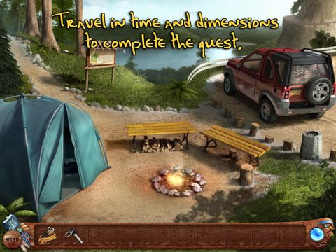 Screenshots of the Spirit walkers: Curse of the cypress witch game for iPhone, iPad or iPod.