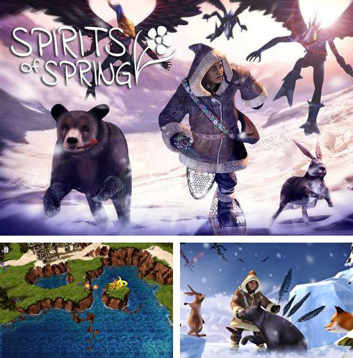 In addition to the game Alien bugs: Defender for iPhone, iPad or iPod, you can also download Spirits of spring for free.