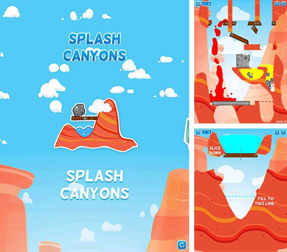 In addition to the game Kill all Zombies for iPhone, iPad or iPod, you can also download Splash сanyons for free.