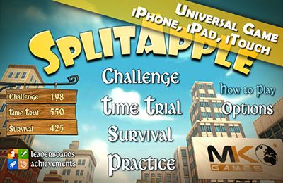 Download Split Apple iPhone free game.