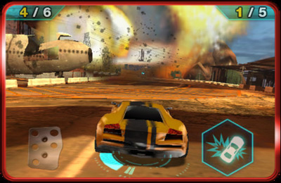 Screenshots do jogo Split/Second: Velocity para iPhone, iPad ou iPod.