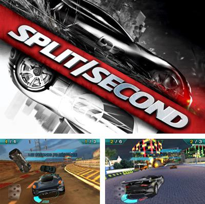 In addition to the game Zombies race plants for iPhone, iPad or iPod, you can also download Split/Second: Velocity for free.