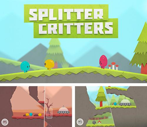 In addition to the game Kamikaze Pigs for iPhone, iPad or iPod, you can also download Splitter critters for free.