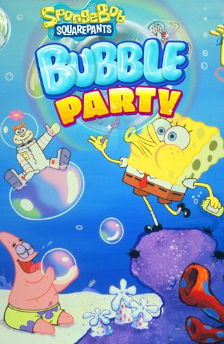 Sponge Bob: Bubble party