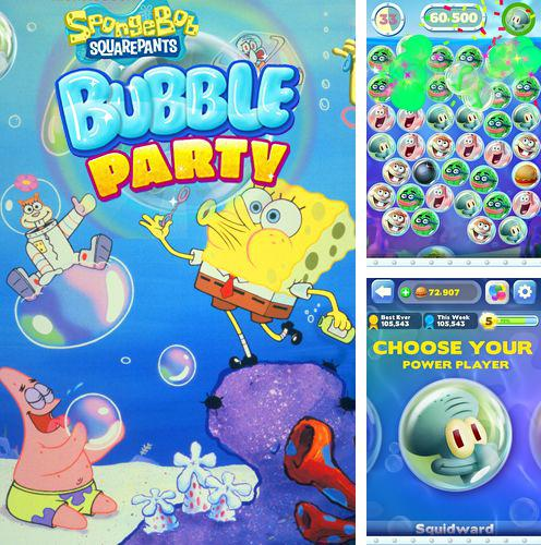 In addition to the game Nom plant for iPhone, iPad or iPod, you can also download Sponge Bob: Bubble party for free.