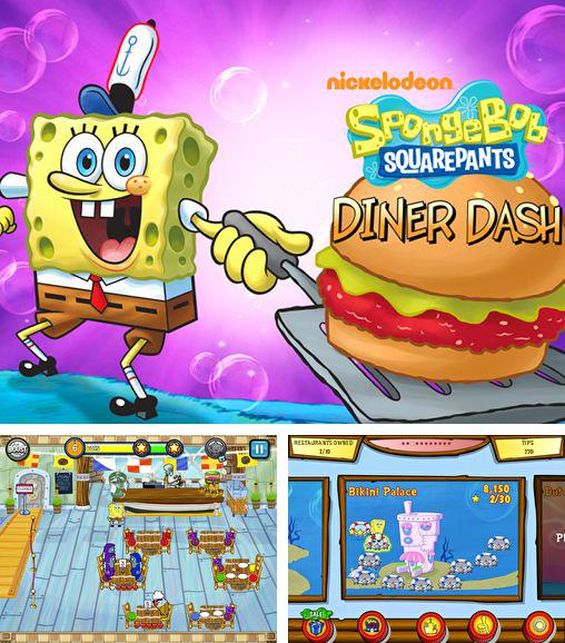 In addition to the game Spacecom for iPhone, iPad or iPod, you can also download Sponge Bob: Diner dash for free.