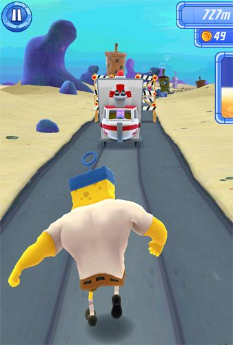 Free Sponge Bob: Sponge on the run download for iPhone, iPad and iPod.