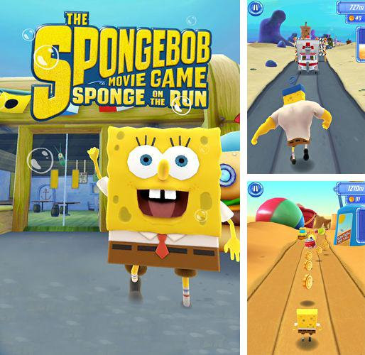 除了 iPhone、iPad 或 iPod 钓鱼冠军游戏,您还可以免费下载Sponge Bob: Sponge on the run, 。