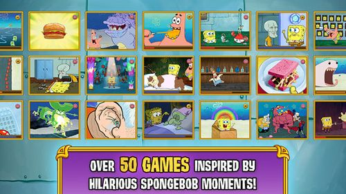 Free Sponge Bob's: Game frenzy download for iPhone, iPad and iPod.