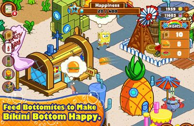 Screenshots vom Spiel SpongeBob Moves In für iPhone, iPad oder iPod.