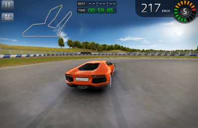 Screenshots vom Spiel Sports Car Challenge für iPhone, iPad oder iPod.
