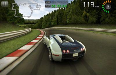 Capturas de pantalla del juego Sports Car Challenge para iPhone, iPad o iPod.