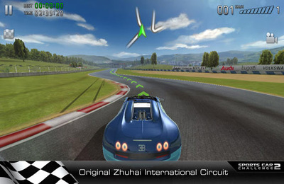 Screenshots vom Spiel Sports Car Challenge 2 für iPhone, iPad oder iPod.