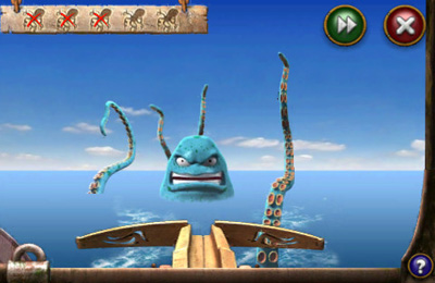 Screenshots vom Spiel Sprill & Ritchie: Adventures in Time für iPhone, iPad oder iPod.