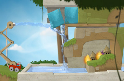 Screenshots vom Spiel Sprinkle Islands für iPhone, iPad oder iPod.
