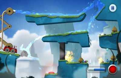 Screenshots do jogo Sprinkle: water splashing fire fighting fun! para iPhone, iPad ou iPod.