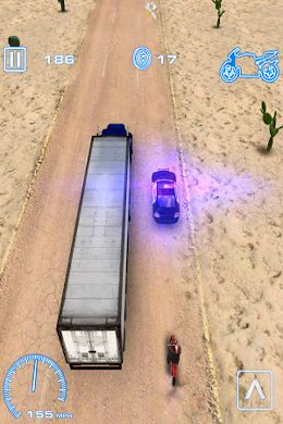 Screenshots of the Sprint Driver game for iPhone, iPad or iPod.