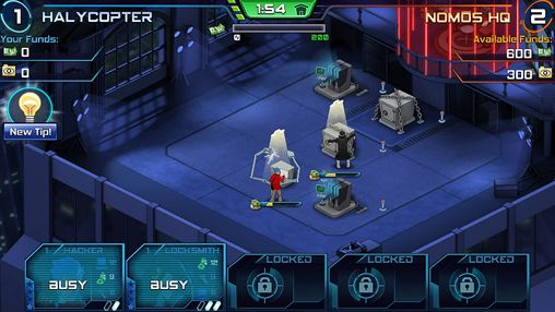 Screenshots of the Spy wars game for iPhone, iPad or iPod.