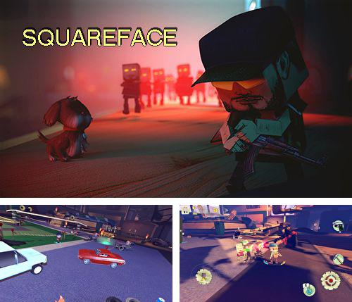 In addition to the game Albert for iPhone, iPad or iPod, you can also download Squareface for free.