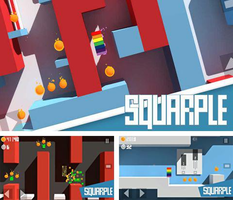 In addition to the game Iron Fist Boxing for iPhone, iPad or iPod, you can also download Squarple for free.
