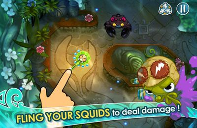 Capturas de pantalla del juego Squids para iPhone, iPad o iPod.