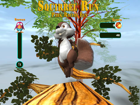 Screenshots vom Spiel Squirrel Run für iPhone, iPad oder iPod.
