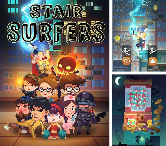 In addition to the game Euro Soccer for iPhone, iPad or iPod, you can also download Stair surfers for free.