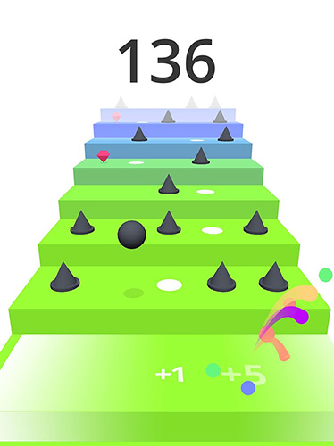 Screenshots of the Stairs game for iPhone, iPad or iPod.