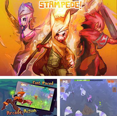 In addition to the game 3HEROES for iPhone, iPad or iPod, you can also download Stampede 3D for free.