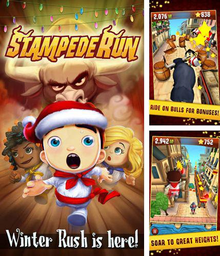 In addition to the game Alice in Wonderland for iPhone, iPad or iPod, you can also download Stampede run for free.