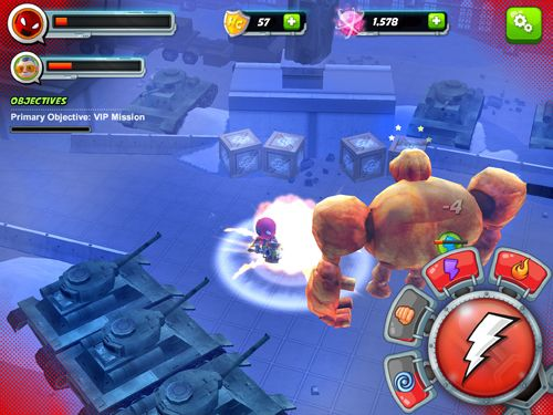 Download Stan Lee's hero command iPhone free game.