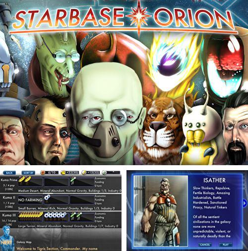 In addition to the game Rocket Runner for iPhone, iPad or iPod, you can also download Star base: Orion for free.