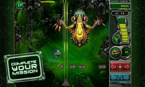 Capturas de pantalla del juego Star defender 4 para iPhone, iPad o iPod.