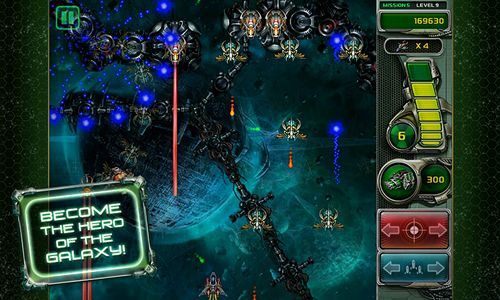Screenshots do jogo Star defender 4 para iPhone, iPad ou iPod.