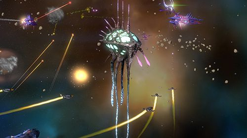 Screenshots vom Spiel Star hammer: The vanguard prophecy für iPhone, iPad oder iPod.