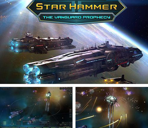 In addition to the game Candy Meleon for iPhone, iPad or iPod, you can also download Star hammer: The vanguard prophecy for free.