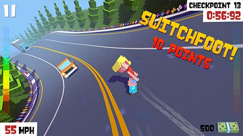 Download Star skater iPhone free game.