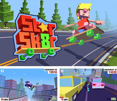 In addition to the game Top Gear: Stunt School Revolution for iPhone, iPad or iPod, you can also download Star skater for free.