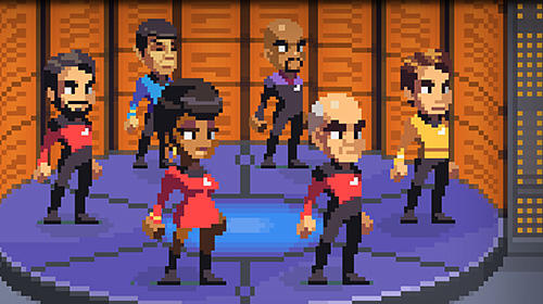 Screenshots do jogo Star trek: Trexels 2 para iPhone, iPad ou iPod.