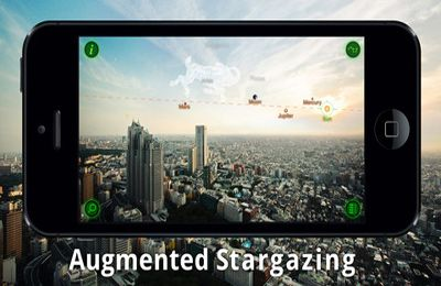 Screenshots vom Spiel Star Walk – 5 Stars Astronomy Guide für iPhone, iPad oder iPod.