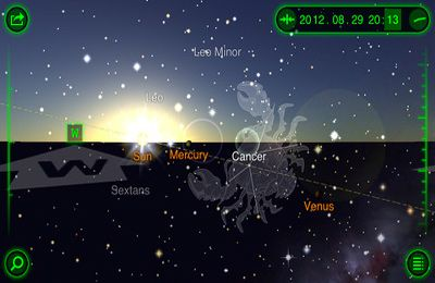 Screenshots of the Star Walk – 5 Stars Astronomy Guide game for iPhone, iPad or iPod.