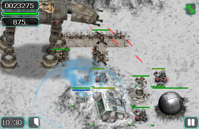 Screenshots vom Spiel Star Wars: Battle for Hoth für iPhone, iPad oder iPod.