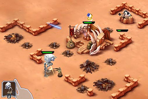 Download Star wars: Commander iPhone free game.