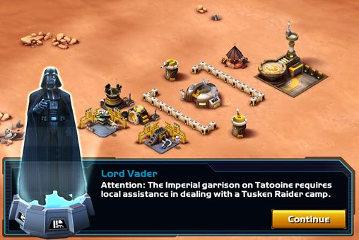 Free Star wars: Commander download for iPhone, iPad and iPod.