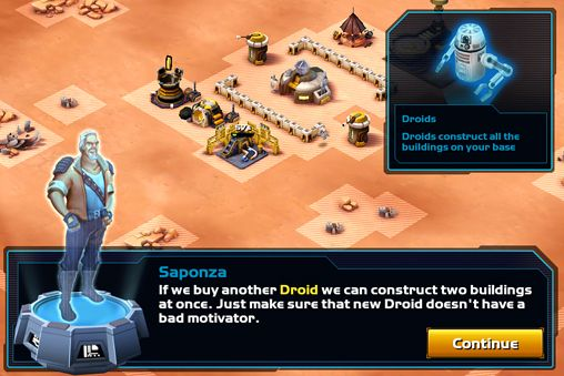 Screenshots of the Star wars: Commander game for iPhone, iPad or iPod.