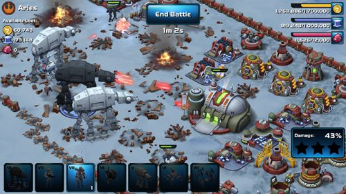 Descarga gratuita de Star wars: Commander. Worlds in conflict para iPhone, iPad y iPod.